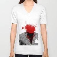 danny ivan V-neck T-shirts featuring Danny by NicholasB