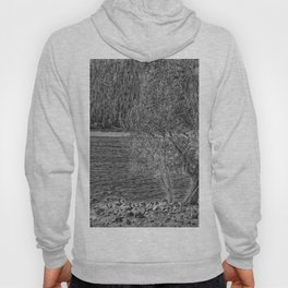 Forest Through The Trees - Black And White Hoody