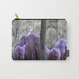 Purple guests Carry-All Pouch