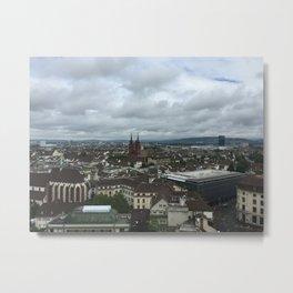 Basel, Switzerland Metal Print