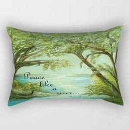 Peace Like a River Rectangular Pillow