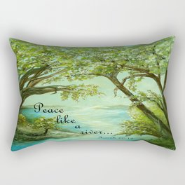 Peace Like a River Rectangular Pillow