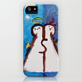 INDIVISIBLE by Saffron iPhone Case