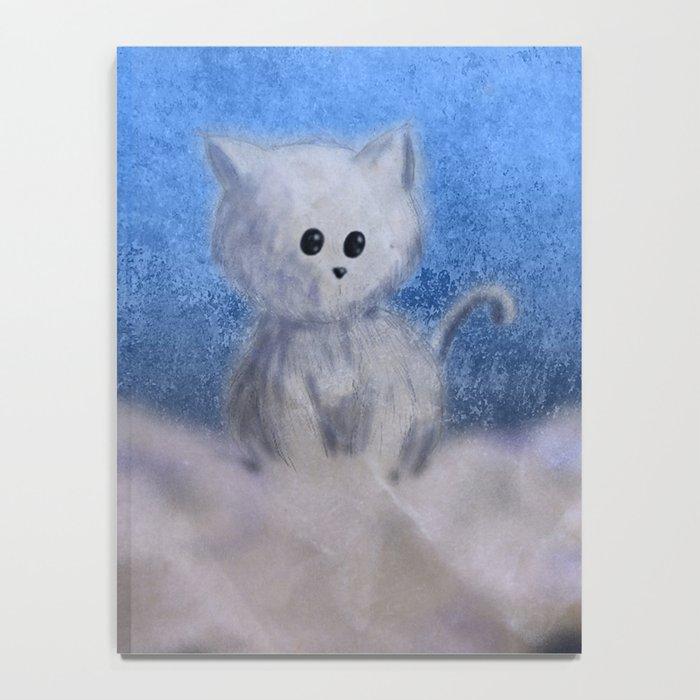 kitten in the sky Notebook