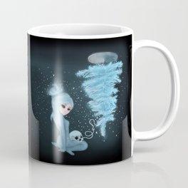 Intercosmic Christmas in Blue Coffee Mug