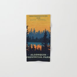 Algonquin Park Poster Hand & Bath Towel