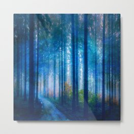 Amazing Nature - Forest Metal Print