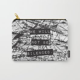 We will not be silenced Carry-All Pouch