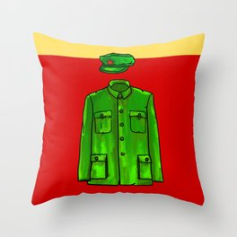 Chairman Mao Throw Pillow