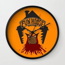 Fun House Wall Clock