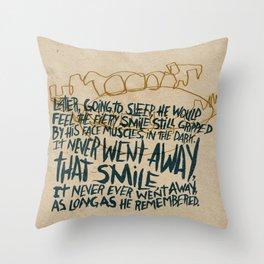 RIP Ray Bradbury Throw Pillow