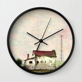 Little cute house Wall Clock
