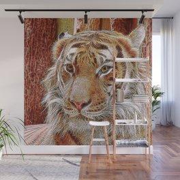 Extraordinary Animals - Tiger 2 Wall Mural