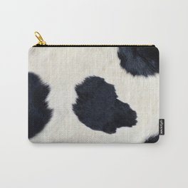 Black and White Cowhide Photography Carry-All Pouch