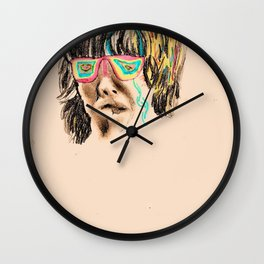 Fading Roots Wall Clock