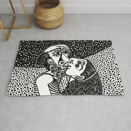 Picasso - The kiss Rug