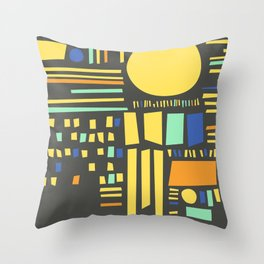 Sunshine Study #6 Throw Pillow