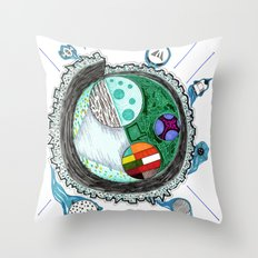 That Is No Moon! Throw Pillow