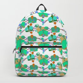 Greeny orchids Backpack