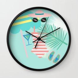 Palm Springs Ready Wall Clock