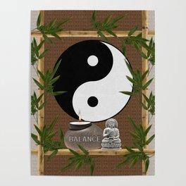 The Balance of Yin Yang Poster
