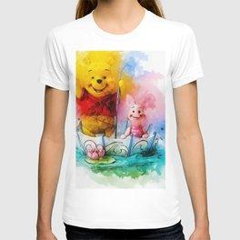 Winnie and Piglet Art T-shirt
