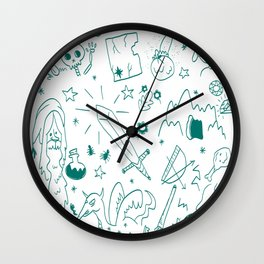 Do You Even Quest Bro? Wall Clock