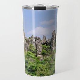 Shilin Stone Forest - Yunnan, China Travel Mug