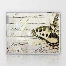 golden butterfly postale Laptop & iPad Skin