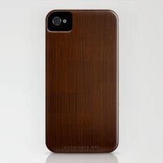 Retro Wood by Friztin iPhone (4, 4s) Slim Case