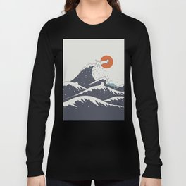 Cat Landscape 55C Long Sleeve T-shirt
