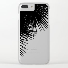 Billy Palms 45 Clear iPhone Case