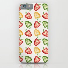 Mixed Peppers Pattern iPhone 6s Slim Case