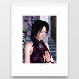 Asian Beauty Framed Art Print