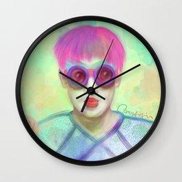 Loli Girl Wall Clock