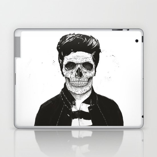 Death fashion Laptop & iPad Skin