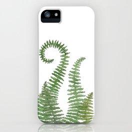 Flowing Fern iPhone Case