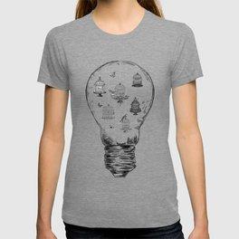 Aquarium Bulb Bird Houses T-shirt