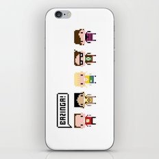 The Big Bang Theory Pixel Characters iPhone & iPod Skin