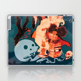 Spooky Books Laptop & iPad Skin