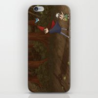 over the garden wall iPhone & iPod Skins featuring Over the Garden Wall by Kiell R.