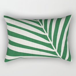 Minimalist Palm Leaf Rectangular Pillow