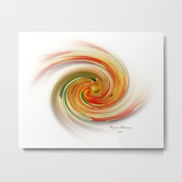 The whirl of life, W1.6A Metal Print