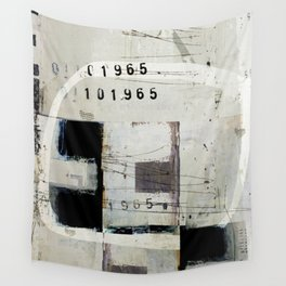 « graphique 1965 » Wall Tapestry