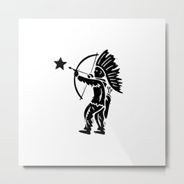 Indian Shooting Star Metal Print