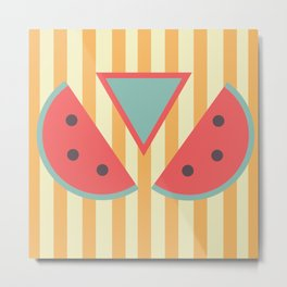 Mmm... watermelon Metal Print