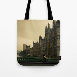 London Fog Tote Bag