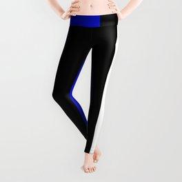 Team Colors 7....Blue,black,white Leggings