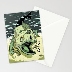 Something Fishy this way Comes Stationery Cards