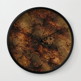 Wonderful marbled Structure A Wall Clock